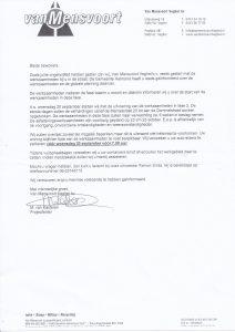 Informatiebrief ivm werkzaamheden Maaslaan